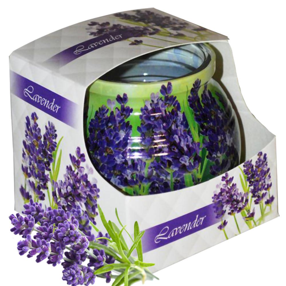 Ly nến thơm tinh dầu Admit 85g QT04544 hoa oải hương 1
