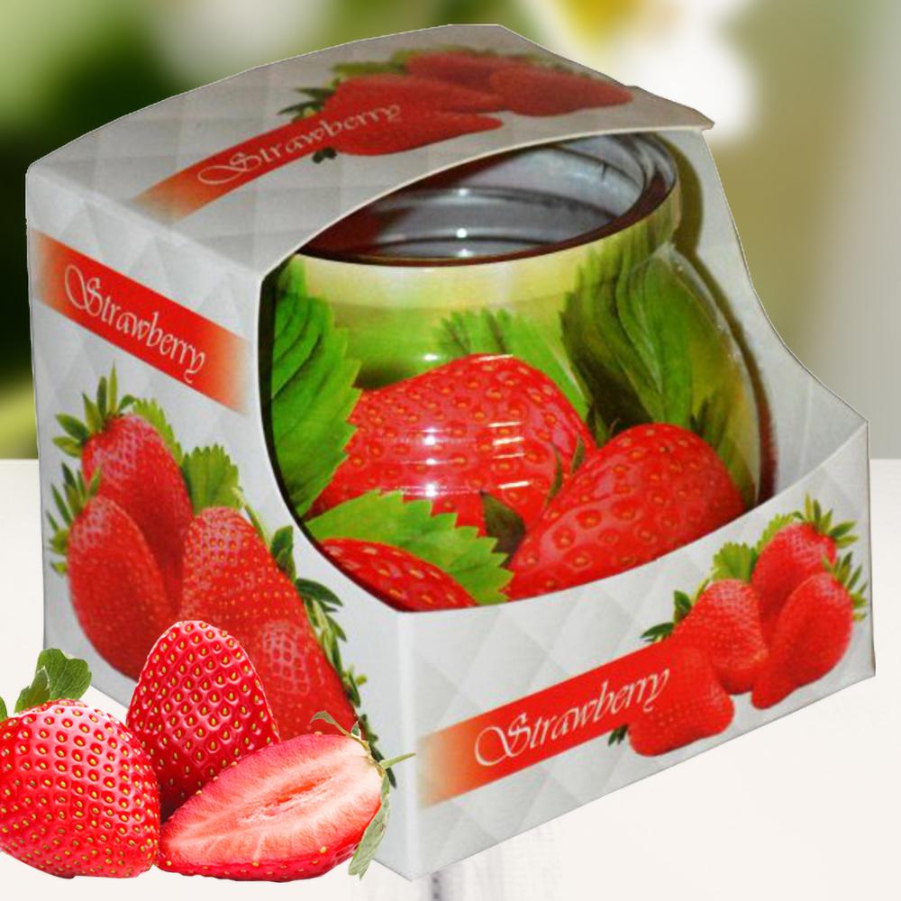 Ly nến thơm tinh dầu Admit 85g QT04547 hương dâu tây 1