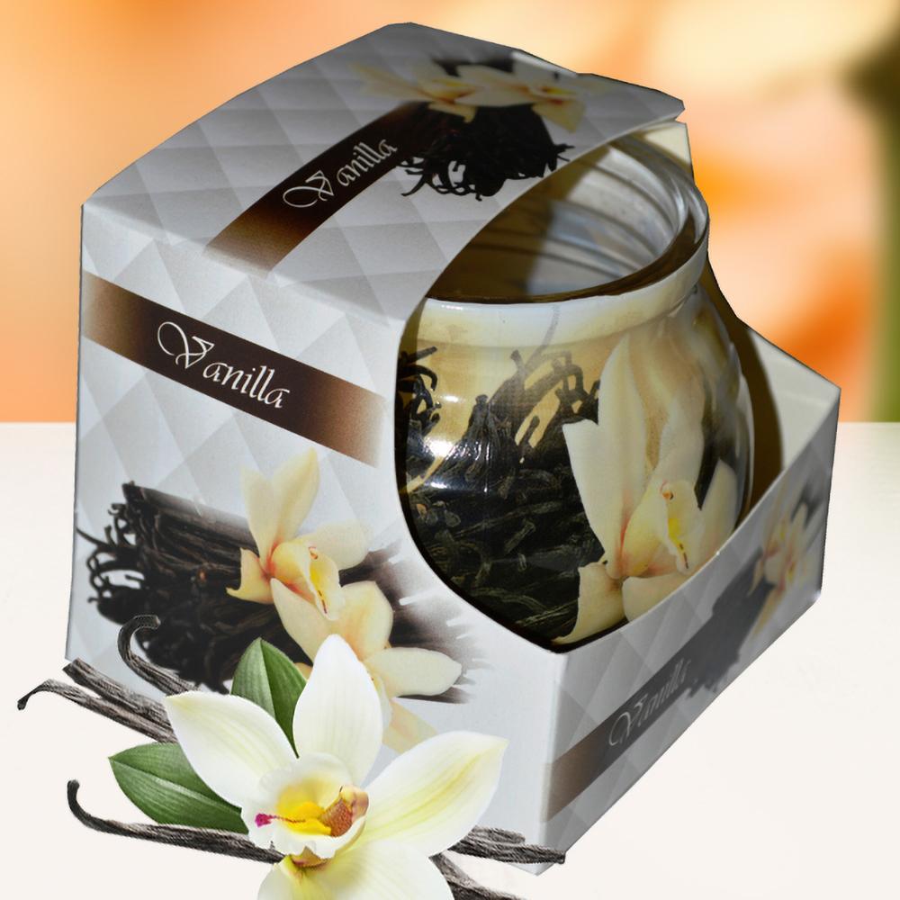 Ly nến thơm tinh dầu Admit 85g QT01885 hương hoa vani 1