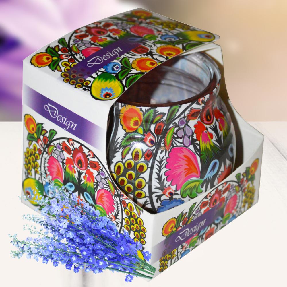Ly nến thơm tinh dầu Admit 85g QT00679 hoa phi yến 1