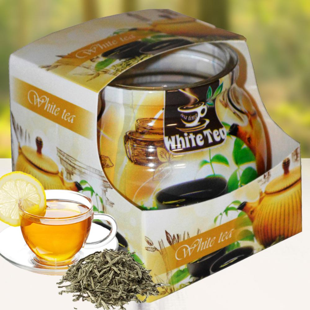 Ly nến thơm tinh dầu Admit 85g QT01894 hương trà trắng 1