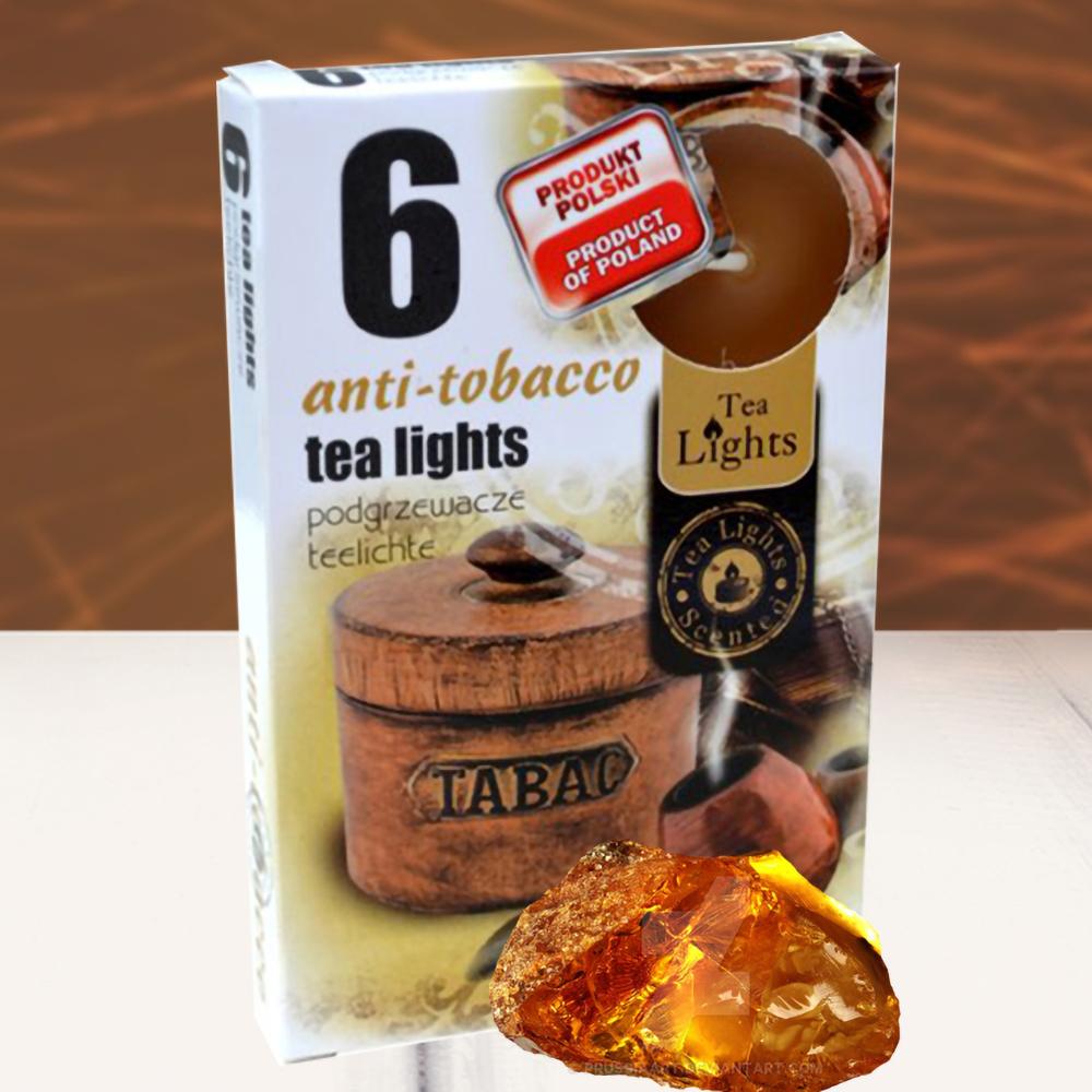 Hộp 6 nến thơm tinh dầu Tealight QT026122 hương hổ phách 1
