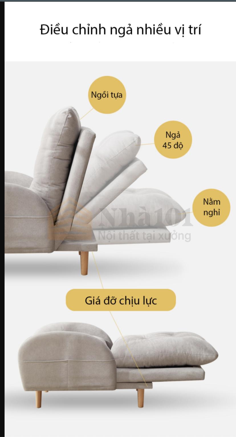 Ghế Bed Lười, Giường Lười, Ghế bed lười tiện nghi 1
