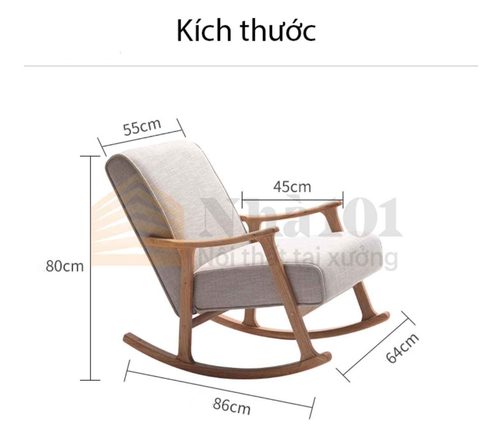 Ghế Bập Bênh T1, ghế bập bênh, ghế bập bênh tiện nghi 2