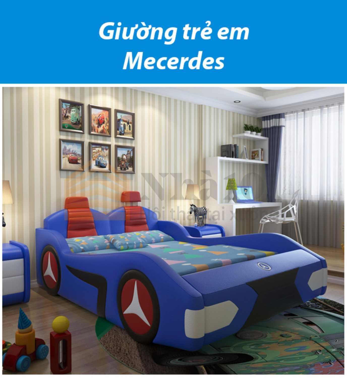Giường Trẻ Em Mecerdes, giường trẻ em, giường mecerdes 1
