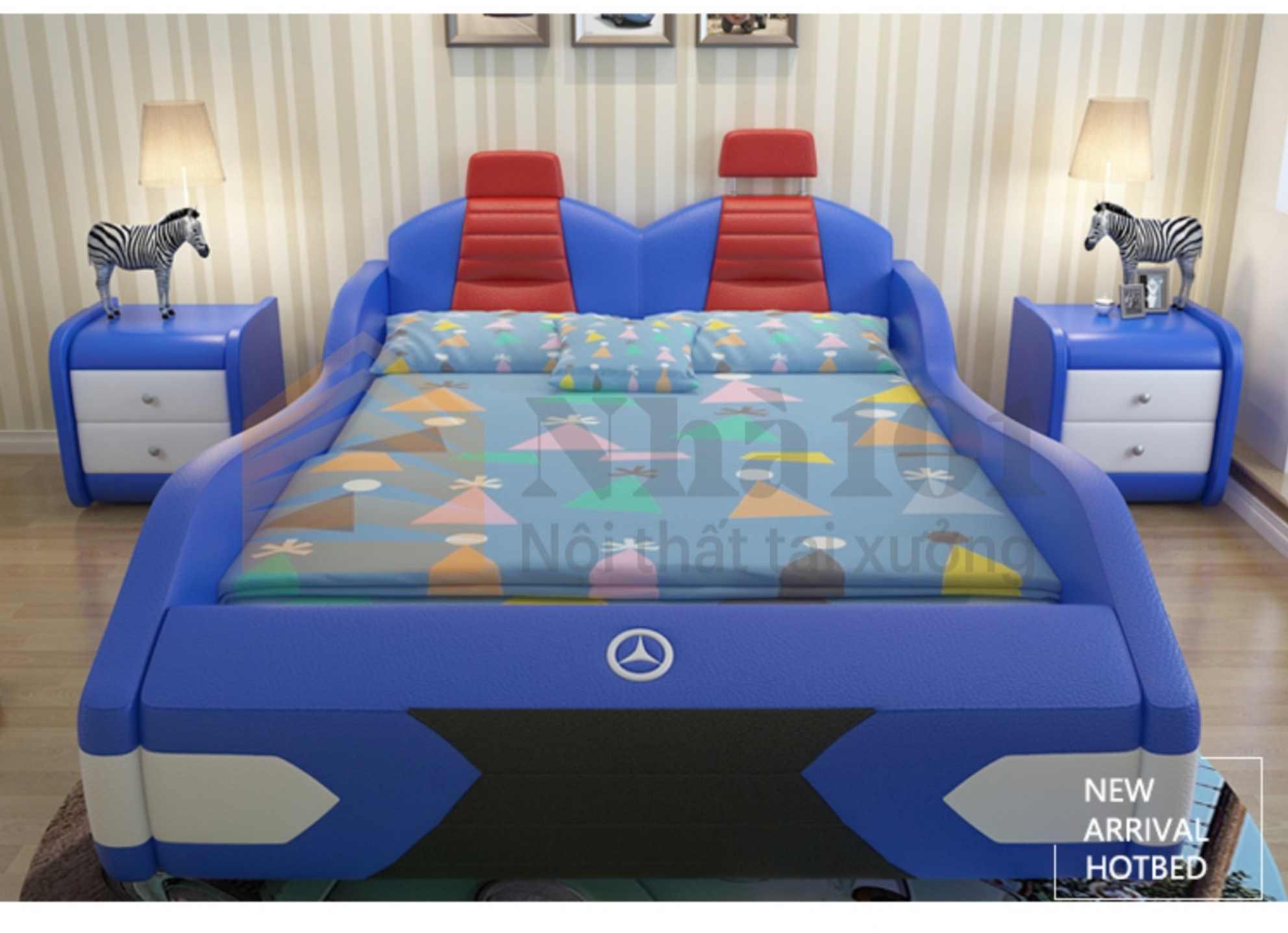 Giường Trẻ Em Mecerdes, giường trẻ em, giường mecerdes 3