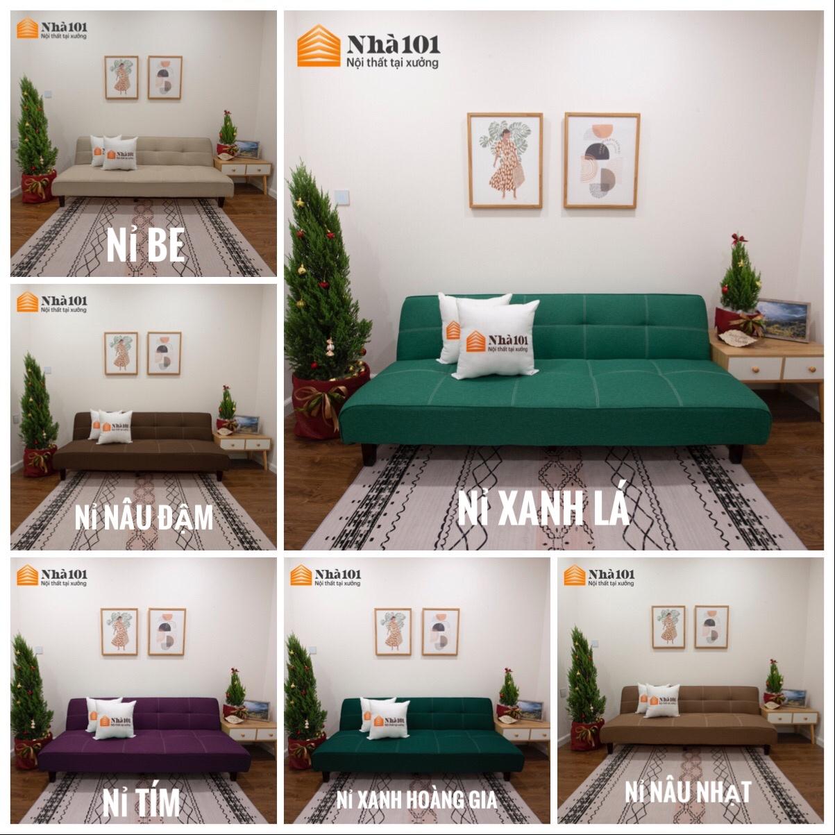 Sofa Bed Sofa Giường Đa Năng Cao Cấp mã F1 5