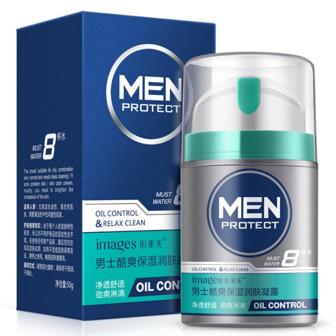 Gel dưỡng da cho nam hỗ trợ cân bằng độ ẩm Images lọ 50ml 1