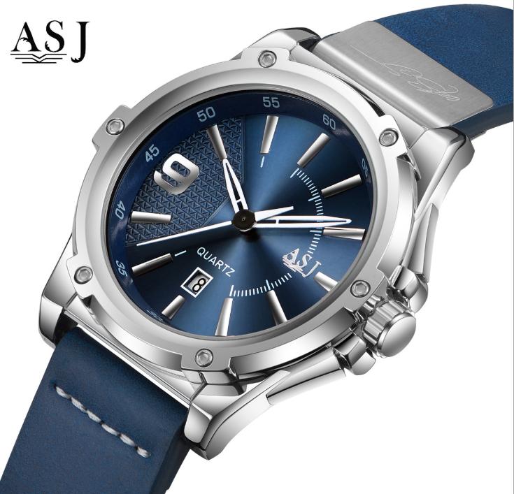 Đồng hồ nam cao cấp thể thao chống nước ASJ 1