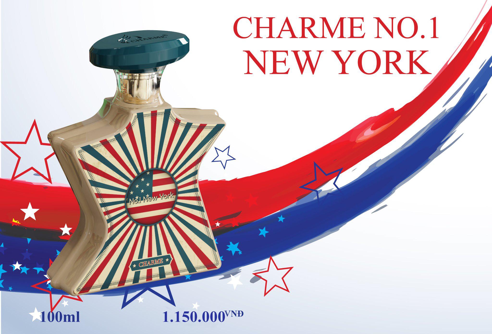 Nước Hoa Charme No1 New York Cuốn Hút Sang Trọng 100ml 3