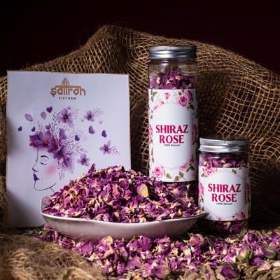 Trà hoa hồng Shiraz nhập khẩu từ Iran – Hũ 10 gram 1