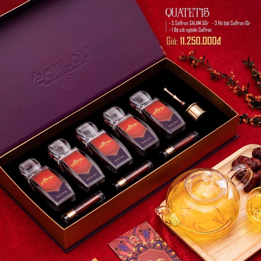Saffron SaLam 25 Gram – Hộp quà tặng cao cấp 2