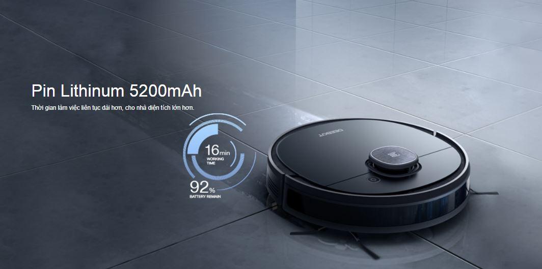 Robot hút bụi lau nhà Ecovacs Deebot ozmo 950 10