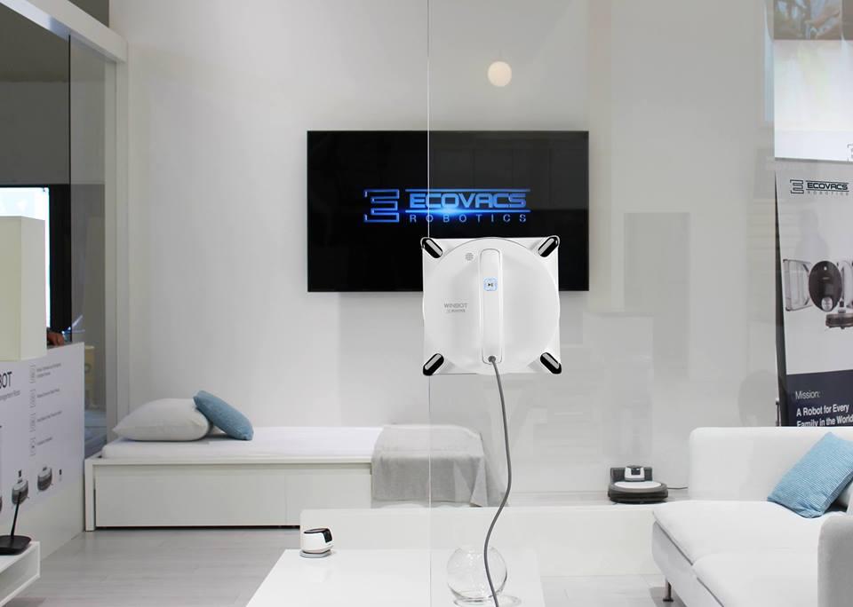 Robot lau kính thông minh Ecovacs Winbot 950 2