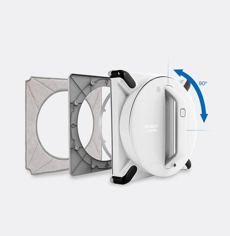 Robot lau kính thông minh Ecovacs Winbot 950 3