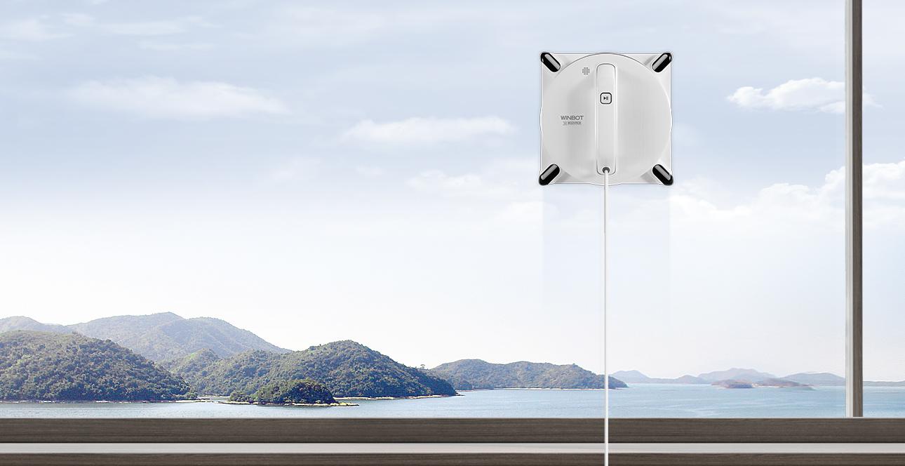 Robot lau kính thông minh Ecovacs Winbot 950 5