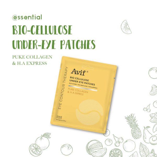 Mặt Nạ Dưỡng Da Vùng Mắt Avif Bio Cellulose 2