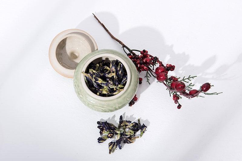 Trà Hoa Đậu Biếc Sấy Khô Mộc Sắc, Trà Hoa Đậu Biếc Sấy Khô Tự Nhiên 2