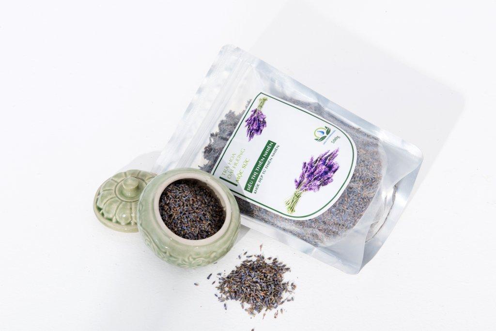 Trà Hoa Oải Hương Sấy Khô Mộc Sắc, Trà Hoa Lavender 1