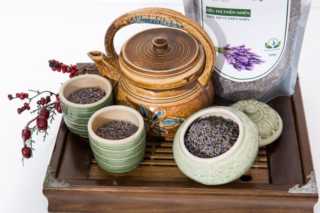 Trà Hoa Oải Hương Sấy Khô Mộc Sắc, Trà Hoa Lavender 3