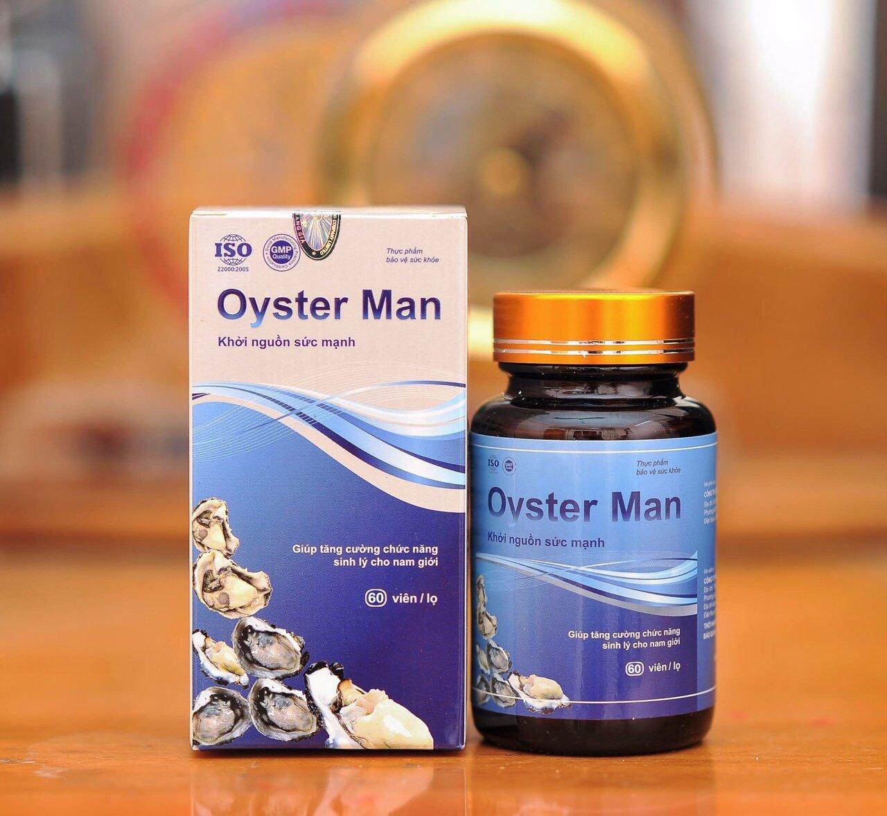 Tinh chất hàu biển Oyster Man cho phái mạnh 60 viên 1