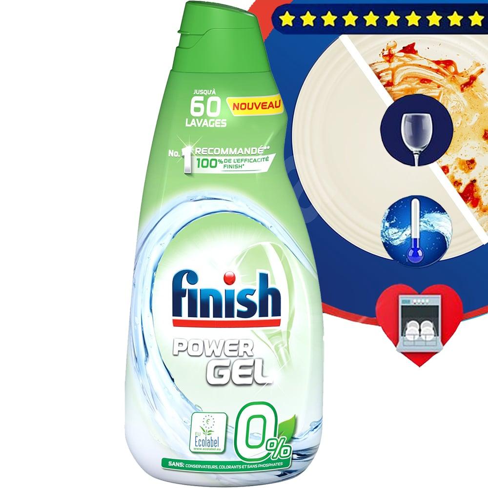 Gel rửa chén Finish All in 1 max 900ml QT4021 1