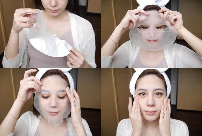 Mặt Nạ Dermal Chiết Xuất Nhau Thai Thực Vật Dưỡng Ẩm Da 10 Miếng 2