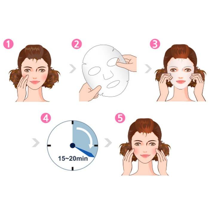 Mặt Nạ Dermal Tinh Chất Vitamin Làm Sáng Da 10 Miếng 2