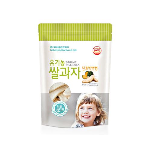 Bánh gạo ăn dặm hữu cơ cho bé Bebefood Hàn Quốc 4 vị 7