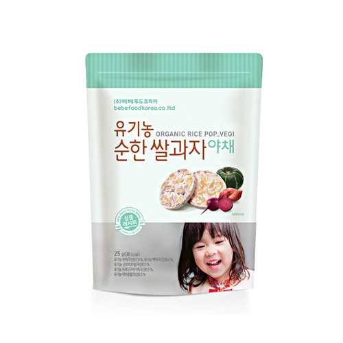 Bánh gạo ăn dặm hữu cơ Bebefood Hàn Quốc 6