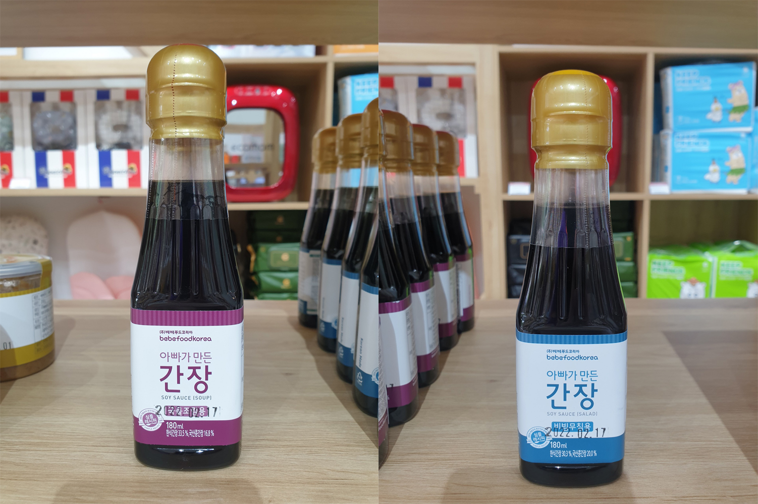 Nước tương hữu cơ cho bé Bebefood Hàn Quốc 8