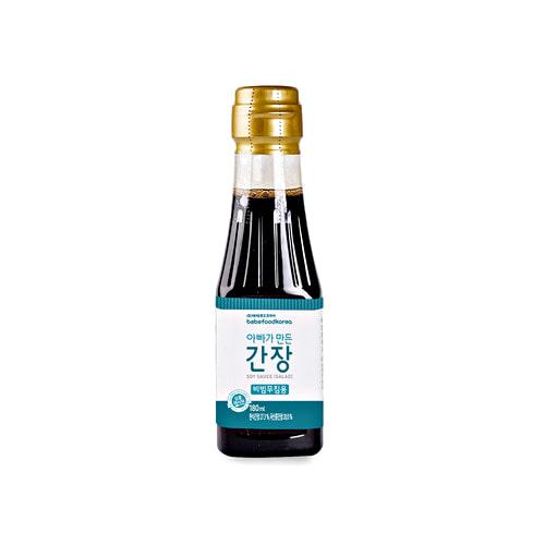 Nước tương hữu cơ cho bé Bebefood Hàn Quốc 6