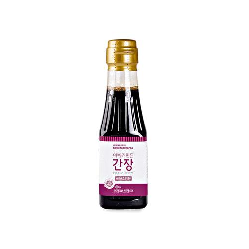 Nước tương hữu cơ cho bé Bebefood Hàn Quốc 7