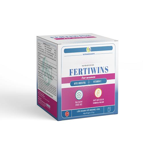 Fertiwins for women hỗ trợ phụ nữ hiếm muộn tăng khả năng mang thai 1