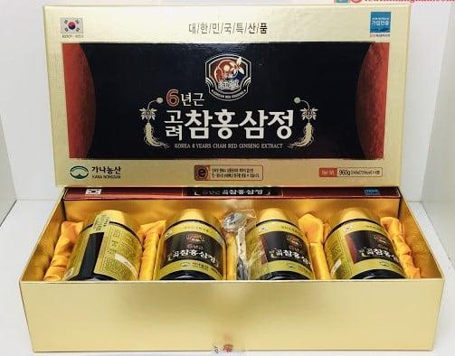 Cao Hồng Sâm Kana Hàn Quốc Hộp 4 Lọ Tăng Cường Sức Khỏe 1