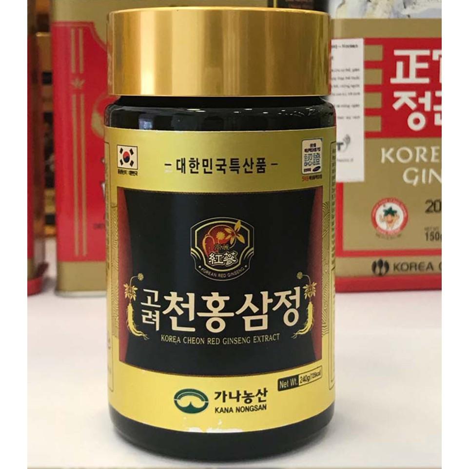 Cao Hồng Sâm Kana Hàn Quốc Hộp 4 Lọ Tăng Cường Sức Khỏe 2