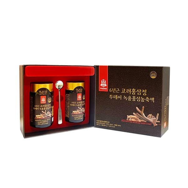 Cao Hồng Sâm Nhung Hươu Goryo Deer Antlers Red Ginseng  2 Lọ x 250g 1