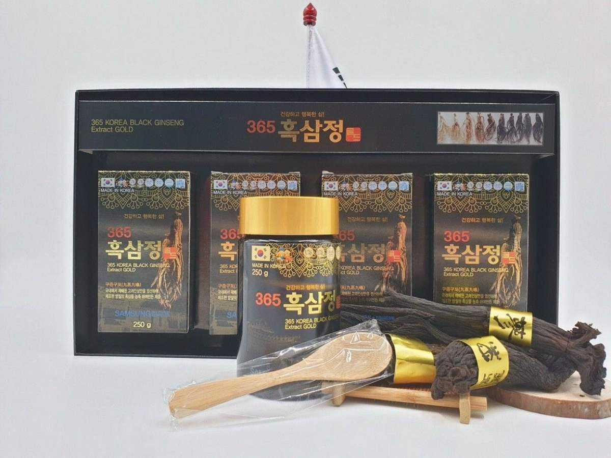 Cao Hắc Sâm 365 Korean Black Gingseng Extract Gold 1