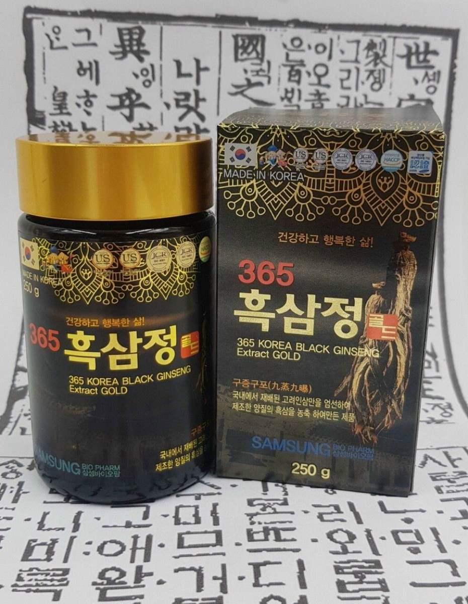 Cao Hắc Sâm 365 Korean Black Gingseng Extract Gold 2