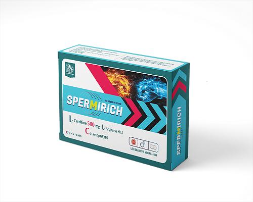 Spermirich hỗ trợ sức khỏe sinh lý nam giới hiếm muộn 1