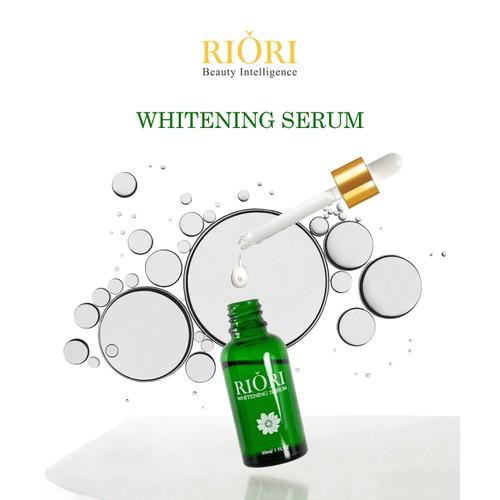 Serum Dưỡng Da Trẻ Hóa Riori Whitening 30ml 1