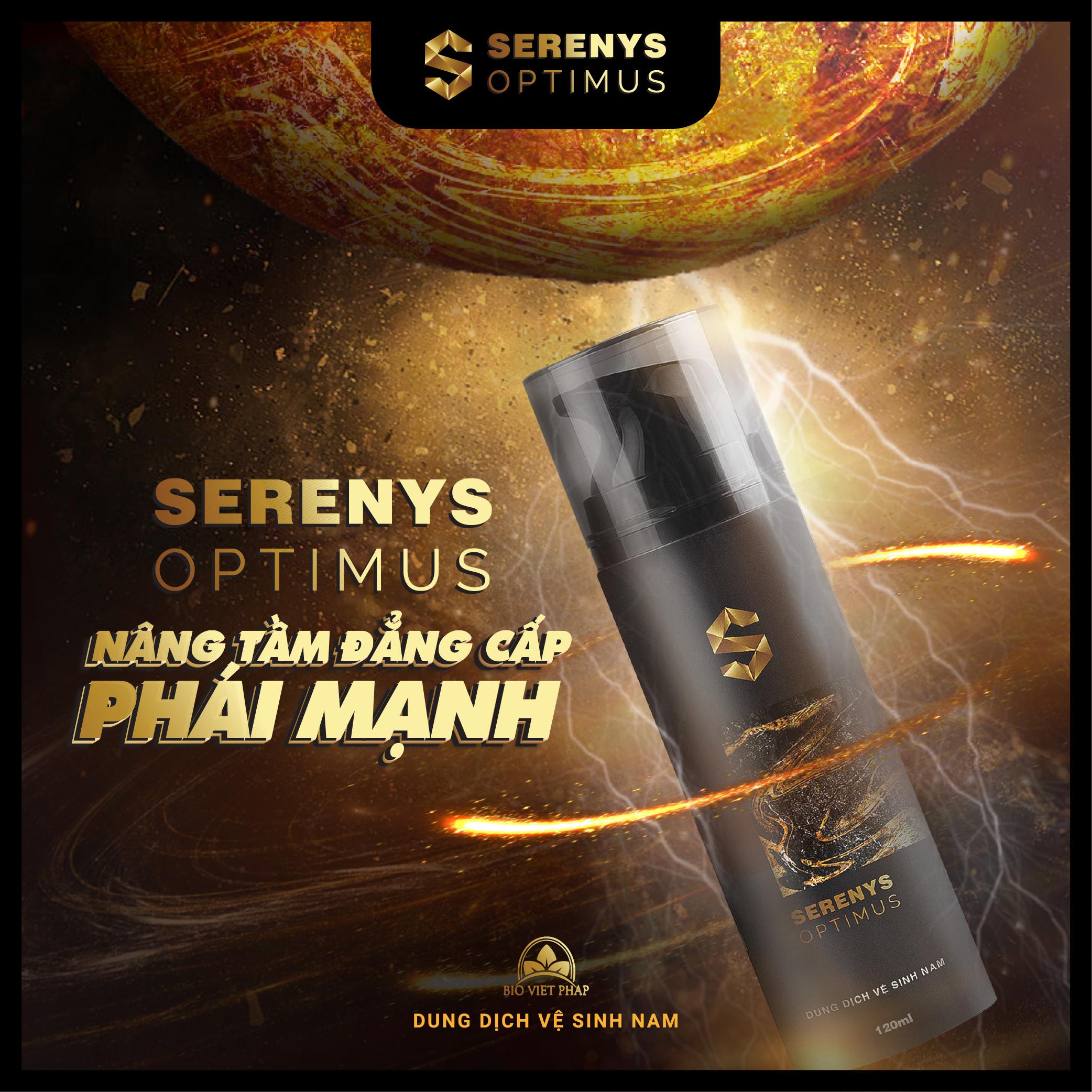 Dung dịch vệ sinh nam Serenys Optimus làm sạch khử mùi 1
