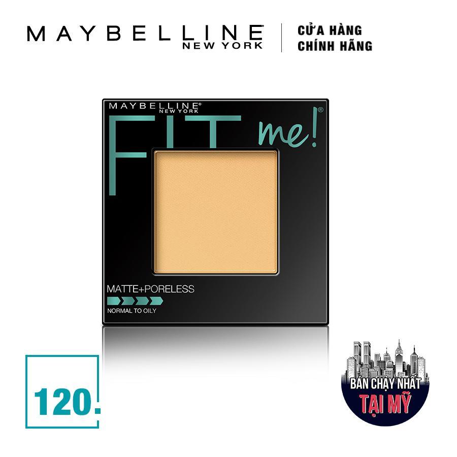 Phấn Phủ Mịn Lì Tự Nhiên Maybelline Fit Me Matte Poreless Màu 120 1