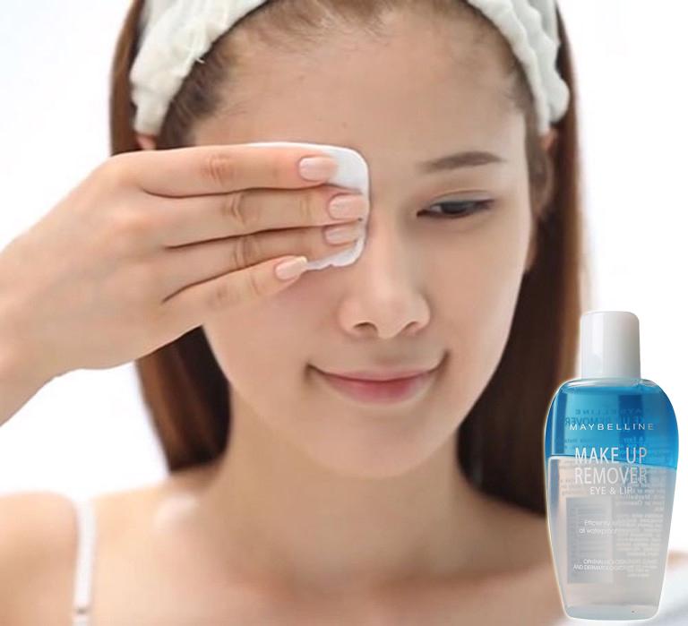 Nước Tẩy Trang Mắt Và Môi Maybelline  Make Up Remover 40ml 2