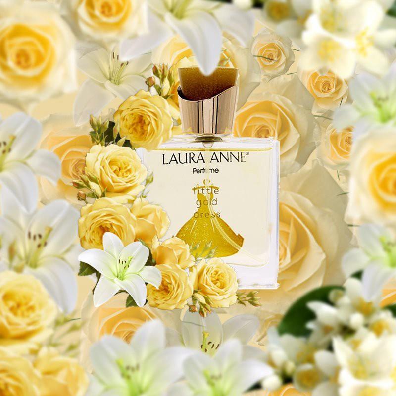 Nước hoa nữ Laura Anne Little Gold Dress 50ml 1