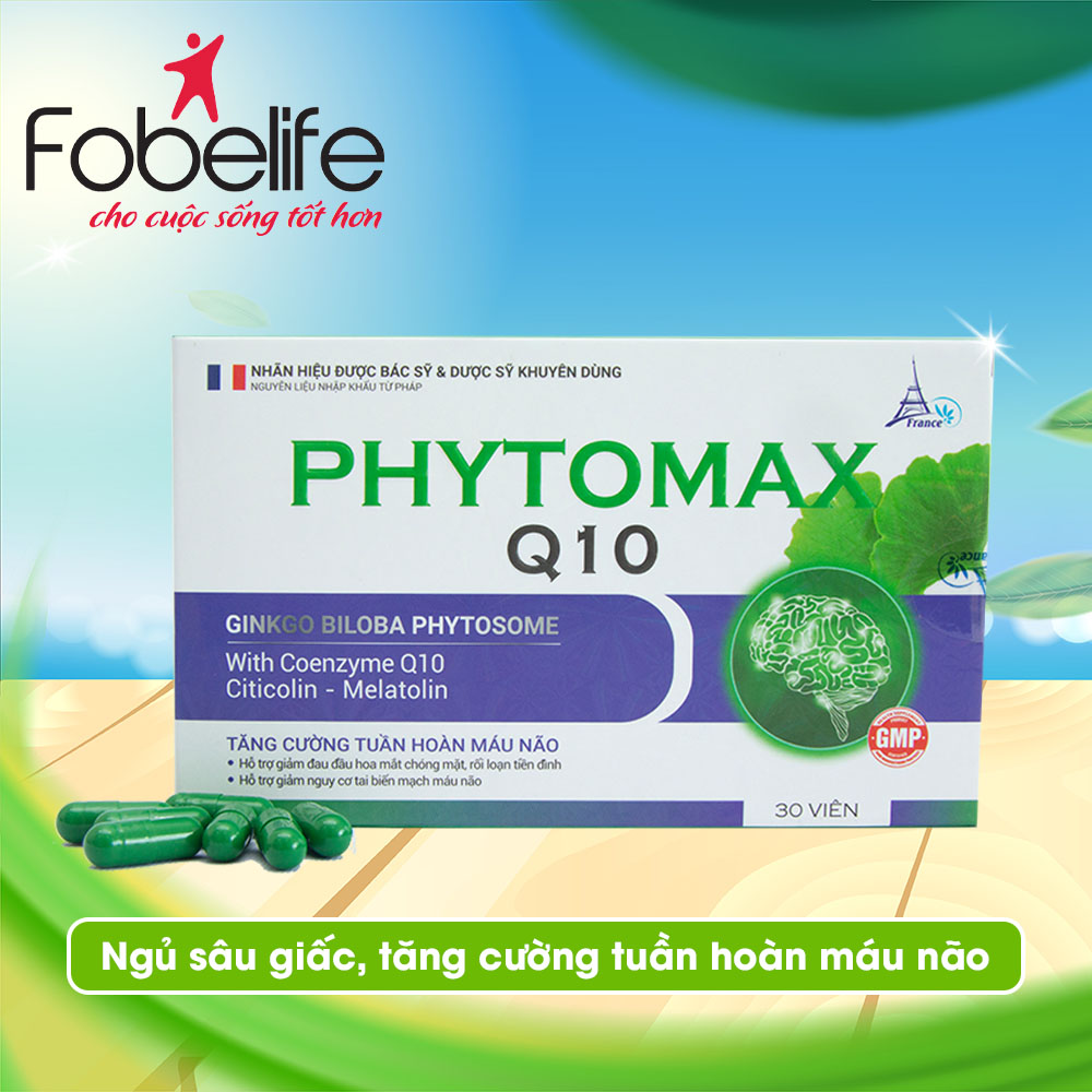 Viên Uống Hỗ Trợ Tuần Hoàn Não PhytomaxQ10 1