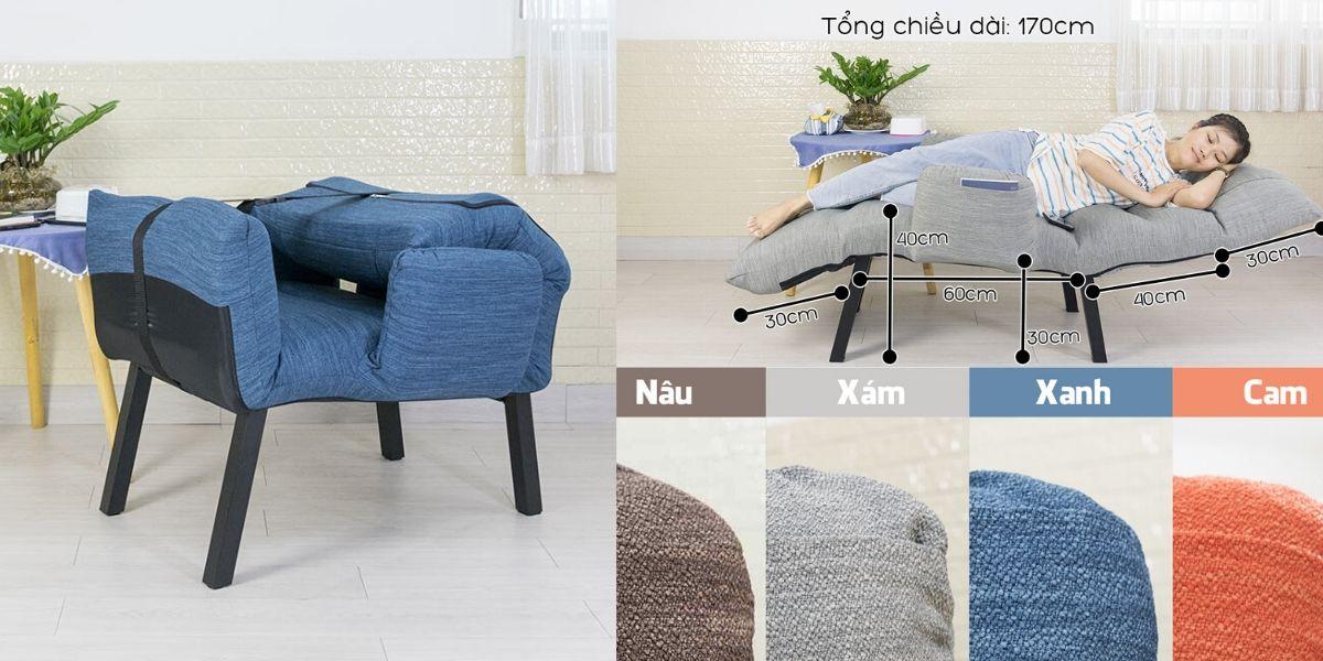 QL360, ghế thư giãn, ghế ngủ tựa lưng dành cho bà bầu, người già 3