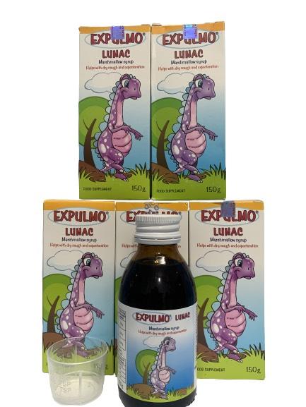 Thực phẩm bảo vệ sức khỏe Expulmo Lunac giúp bé giảm ho, 150g 1