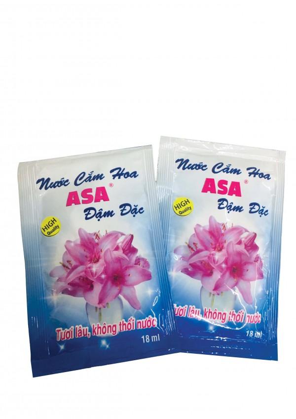 Dây nước cắm hoa đậm đặc Asa 18ml 10 gói trên dây 1