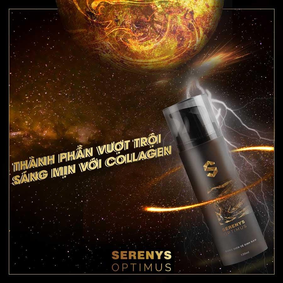 Dung dịch vệ sinh nam Serenys Optimus làm sạch khử mùi 2